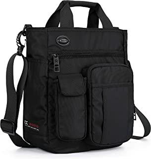 Small Shoulder Messenger Bag Crossbody Business Laptop Multifunctional Pocket Bags for Travel School Work Men & Women