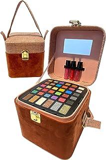 حقيبة سفر لحمل جميع حقائب السفر مع مكياج وحقيبة قابلة لإعادة الاستخدام من بي آر, , لون وردي محايد - AL-48