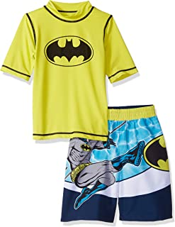 8180140ab Warner Bros Boys' Batman 2-Piece Swim Set