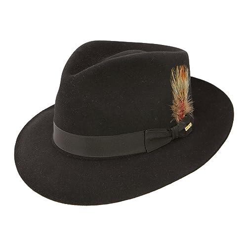 87934836ef7 Stetson Fedora Hat  Amazon.com