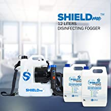 Disinfection Fogging Spray Machine12 Liters Capacity & 10 Liters SHIELDme Natural Disinfectant