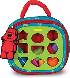 Melissa & Doug Take-Along Shape-Sorter Baby and Toddler Toy (Developmental Toys, For..