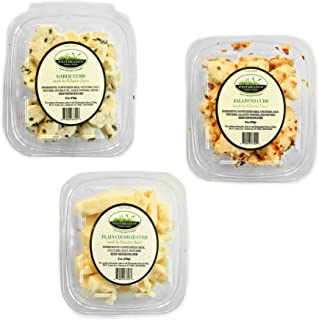 Westmeadow Farm Bold Curd 3 Pack - Italian Flavored Curd, Jalapeno Flavored Curd, and Plain Curd