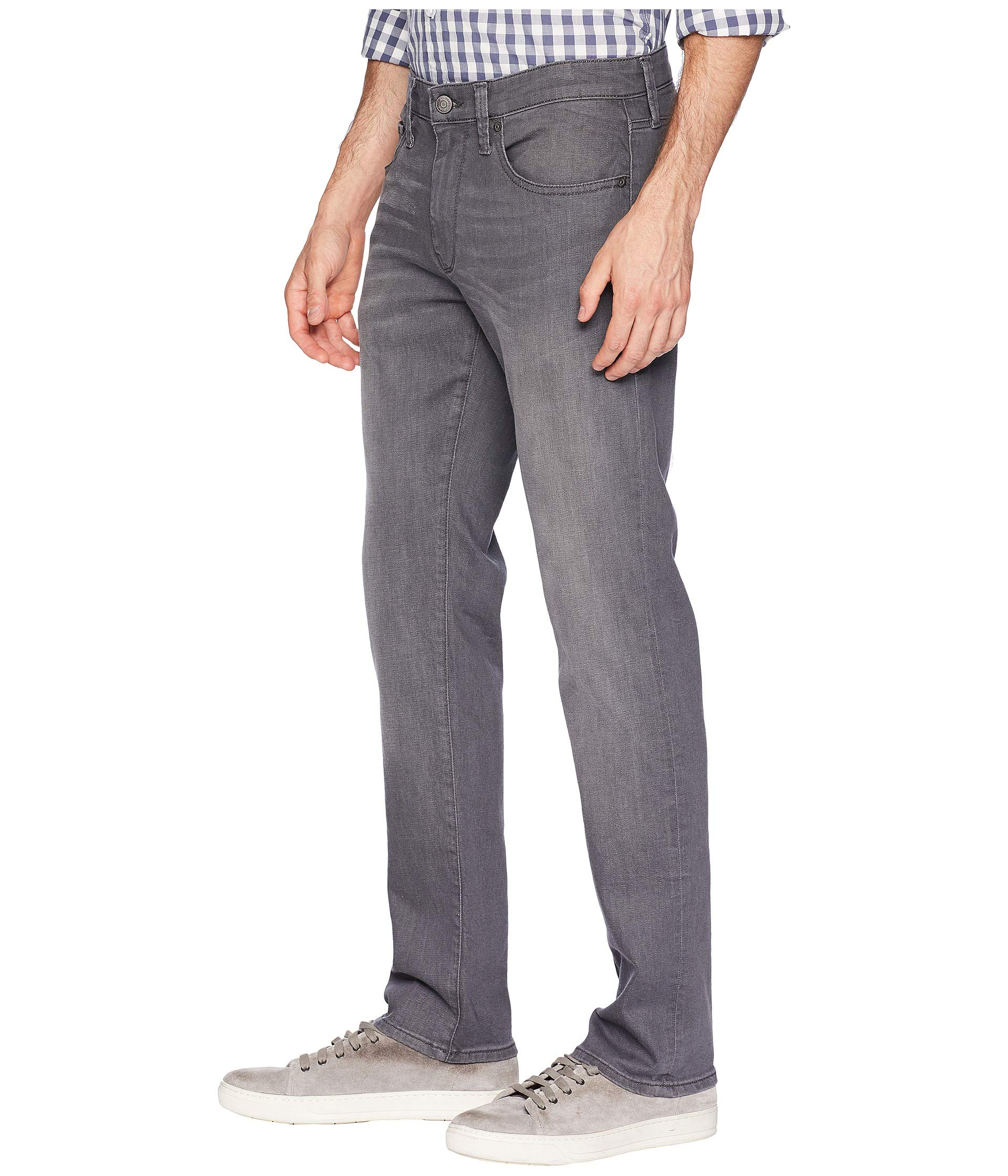 Mavi Grey Slim Brooklyn Light Leg Marcus Straight Jeans In OOxBpPq
