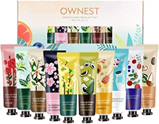Ownest 10 Pack Plant Fragrance Hand Cream Moisturizing Hand Care Cream Travel Gift Set With Natural Aloe And Vitamin E For...