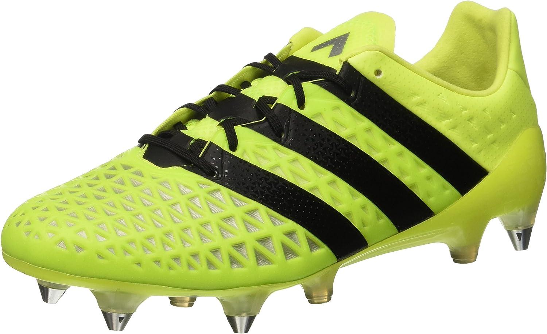 Adidas Ace 16.1 SG Football Boots  Adult  Solar Yellow Core Black Silver Metallic