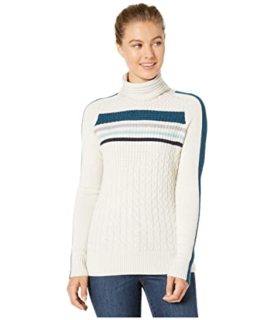 Smartwool Dacono Ski Sweater (Moonbeam Heather) Women
