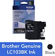 Brother Genuine LC103BK High Yield XL Black Ink Cartridge