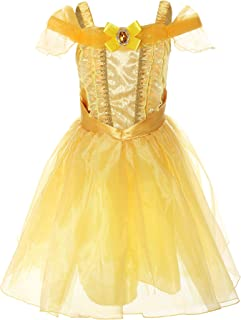 Little Girl's Princess Belle Costume Dress up RB-G9169