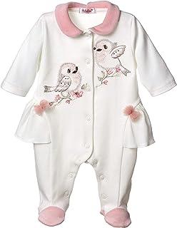Sofija Grenouillère pour bébé fille 0-12 mois pour dormir et jouer