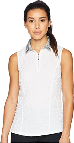 Pucker Up Textured Sleeveless Top