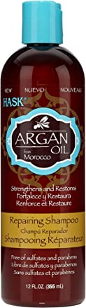 Hask Argan Oil  Repairing Shampoo, 355 ml