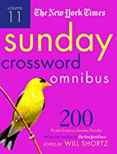 Download The New York Times Sunday Crossword Omnibus Volume 11: 200 World-Famous Sunday Puzzles from the Pages of The New York Times PDF