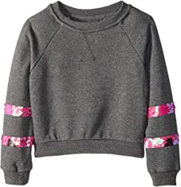 Ariel Crewneck Sweatshirt (Toddler/Little Kids)