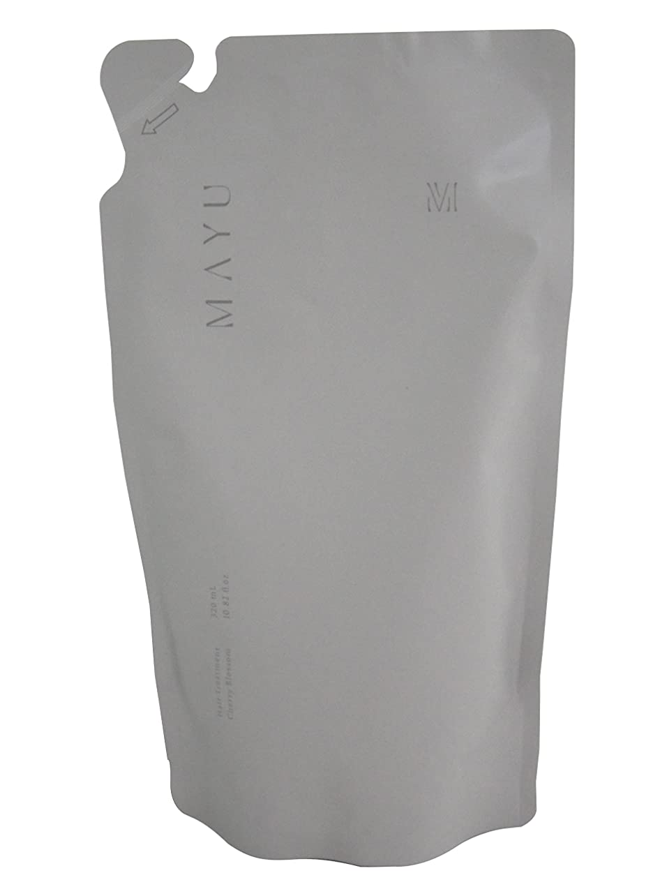 ロードされたアジテーションダイヤモンド【365Plus】 MAYU さくらの香り トリートメント リフィル (320ml) 1本入り