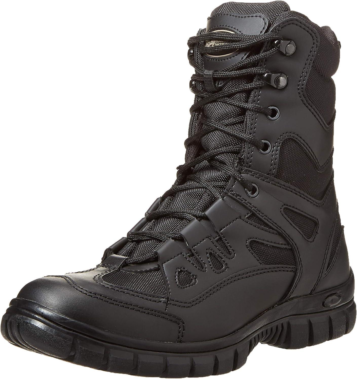 Voodoo Tactical 04-8479 9  Side Zip High Speed Tactical Boot, Black