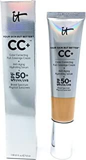 It Cosmetics CC+ Cream SPF 50 (Light Medium) Full Coverage,