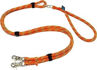 ドッグ・ギア ザイルリードタイプW ロープ径10mm 全長180cm オレンジ 「大切な愛犬を迷子犬にしないためのリードです」
