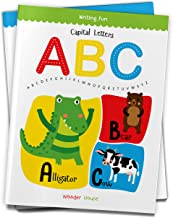 Capital Letters ABC Write and practice Capital Letters A to Z book for kids Writing Fun