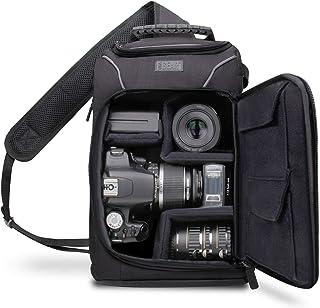 Accessory Power USA GEAR S Series S15 - Mochila Cámara Reflex Funda Bolsa Protectora para Cámaras DSLR como Nikon Canon  y para Accesorios Cargadores Tarjetas de Memoria