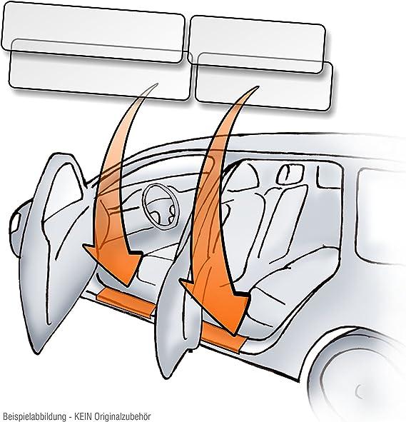 Lackschutzshop Set Einstiegsleisten Türeinstiege Einstiege Passend Für Modell Siehe Beschreibung 150µm Transparent Auto