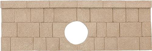 2021 FiberBloxx popular 1-Piece Fiberglass Landscape Retaining Wall, 6-Foot Culvert wholesale End Cap Panel sale