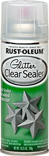 rustoleum glitter clear sealer