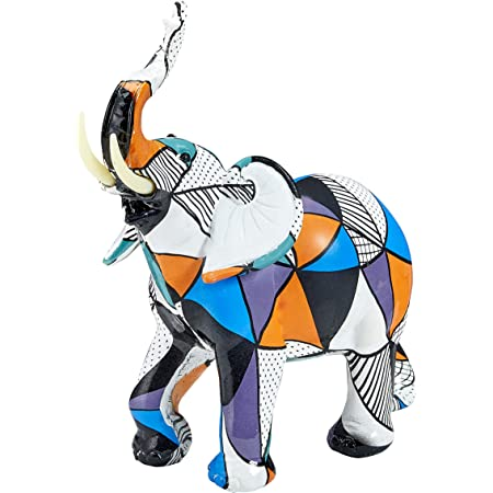 Unique Elephant Figurine Art Piece