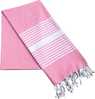 KALAR 100% Cotton Beach Towel, Oversize towel, Quick-Dry, Highly Absorbent, Sand Free, Eco-friendly Natural Cotton, Soft P...