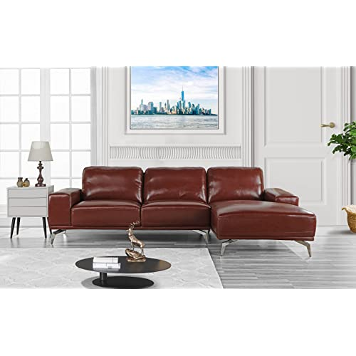 Italian Leather Sofa: Amazon.com