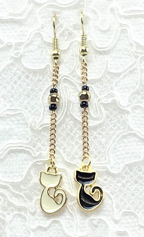 J.Leaf Studio- Cute Handmade Asymmetrical Drop New arrival Many popular brands Earring Dangle wi