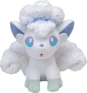 Pokemon Center Original (12.2-Inch) Poke Plush Fluffy Alolan Vulpix (Alola Rokon)