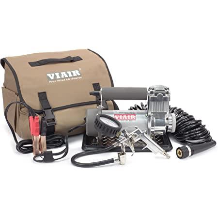 VIAIR - 40045 400P-Automatic Function Portable Compressor , Silver