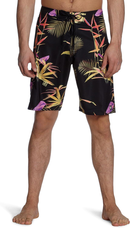 Globe Lester Mid Length Board Shorts in Black