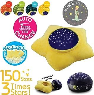 Le Petit Prince Washable Soft Star Plush Projector Night Light