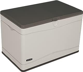 Lifetime 60103 Deck Storage Box, 80 Gallon, Desert Sand/Brown