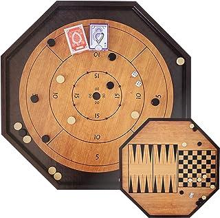 Crokinole 4 in 1 Board Game