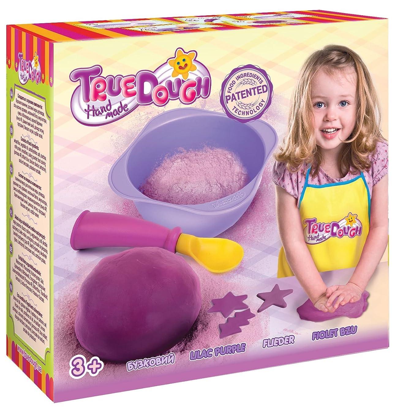 TrueDOUGH 21012 Make Your Own Modelling Dough Single Pack Set, Lilac Purple