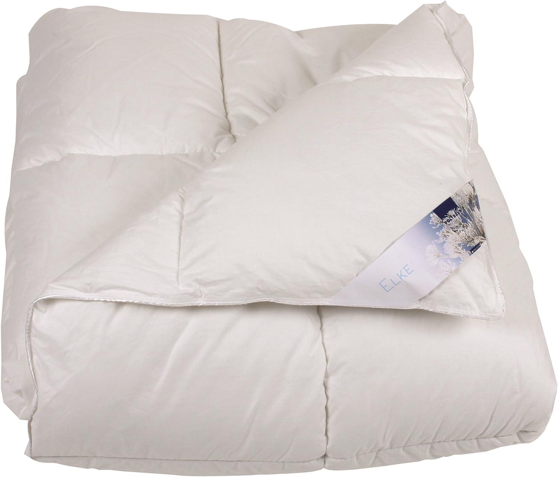 Polydaun  Elke Housse de Couette, Blanc, Single, 240x 200cm