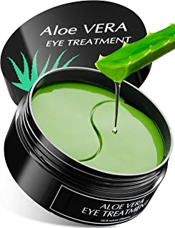 Aloe Vera Eye Treatment Mask (30 Pairs) Reduces Puffiness, Wrinkles, Puffy and Bags Under Eyes, Lightens Dark Circles, Und...