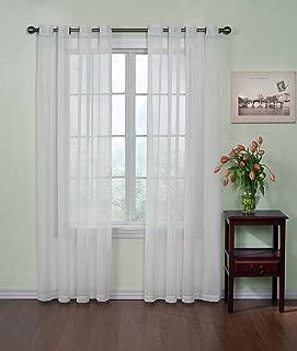 tie top sheer curtains