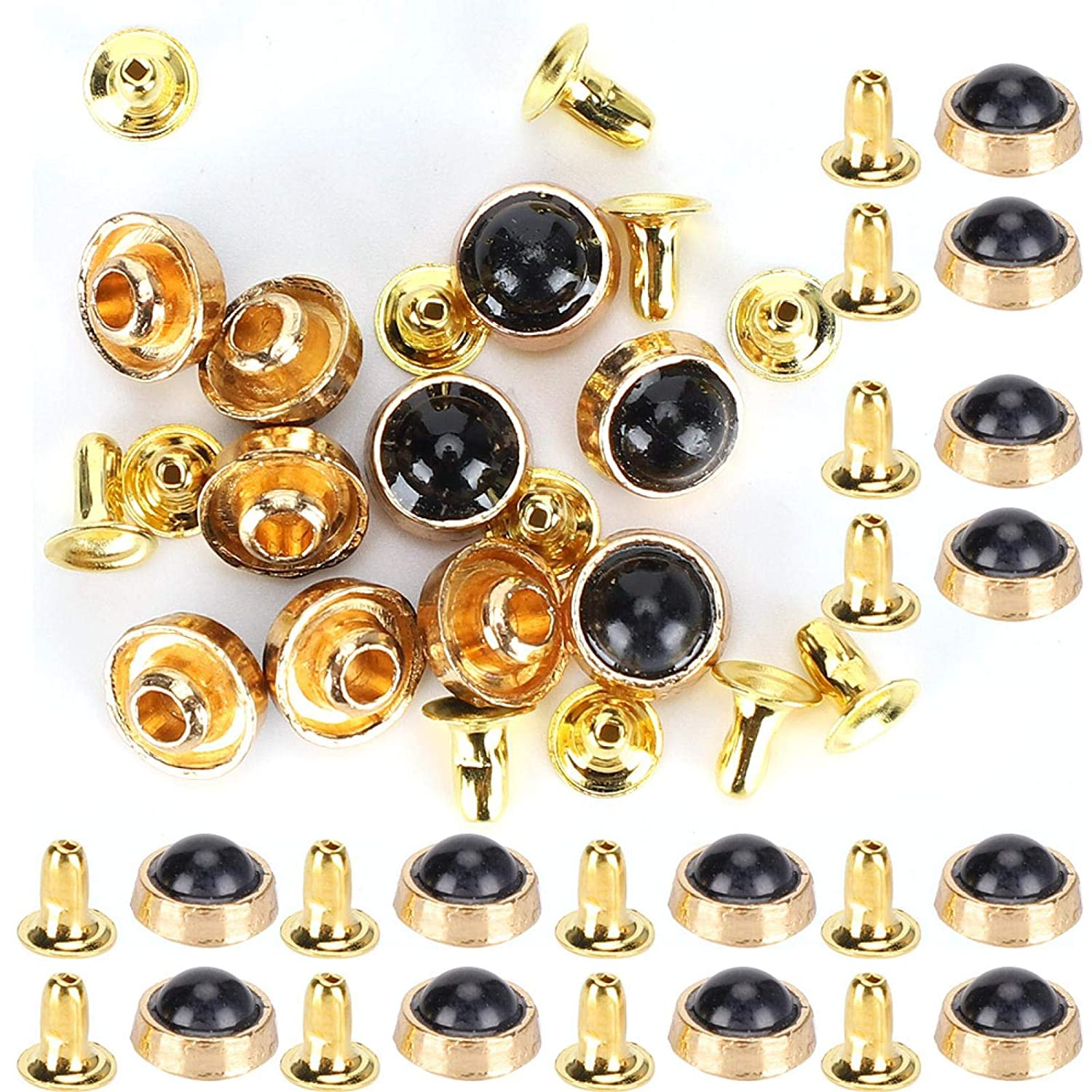 Optional Style 100 Sets Zinc Rivets Rapid 100% quality warranty Alloy Turquoise Manufacturer direct delivery