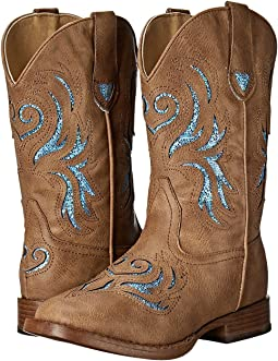 Roper Kids Glitter Breeze Square Toe Boot (Toddler/Little Kid)