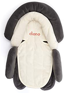 Diono Cuddle Soft, 2-in-1 Head Support, Grey/Arctic