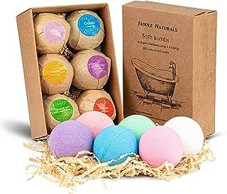 Jadole Naturals Organic Bath Bombs Set Best Christmas & Birthday Gifts