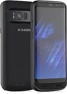 0f1795a50ab KiWiBiRD Funda de Batería Compatible con Samsung Galaxy S8 / 4500mAh Carcasa  Cargador de Batería /