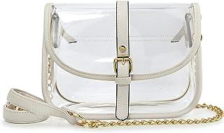 Damen-Handtasche mit Kette, Schultertasche, Handtasche