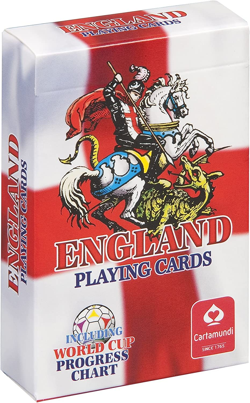 England St Georges Flagge Fußball World Cup Spielkarten B003CGD8DU Ausgezeichnet | Große Ausverkauf