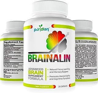Vitaminas para El Cerebro, Suplemento Nootropico Natural, CADA Capsula Mejora Su Memoria Y Concentracion - Fórmula Avanzad...