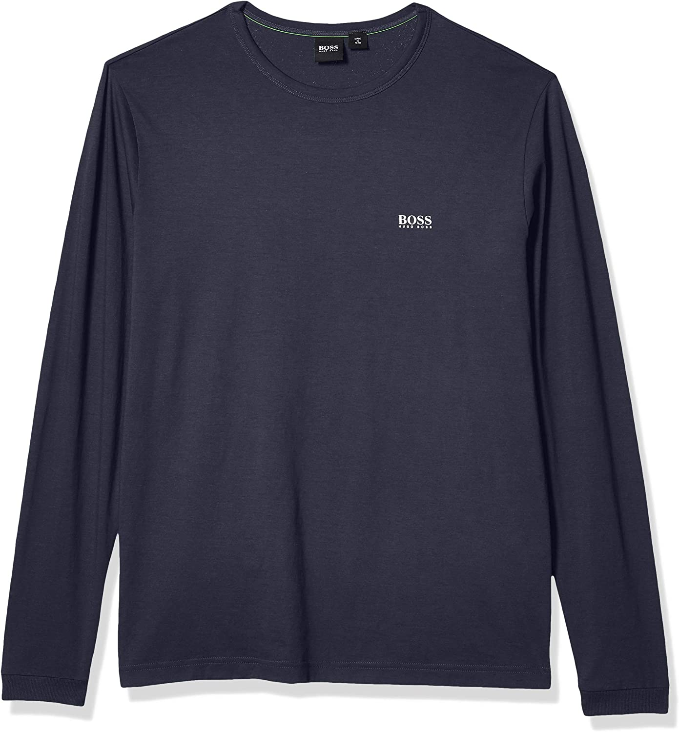 Hugo Boss Mens Crew Neck Long Sleeve Cotton Sweater